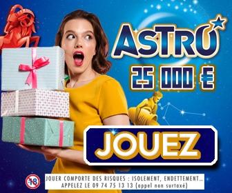 Ticket à gratter Astro