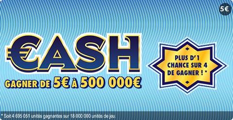 les jeux à gratter cash FDJ