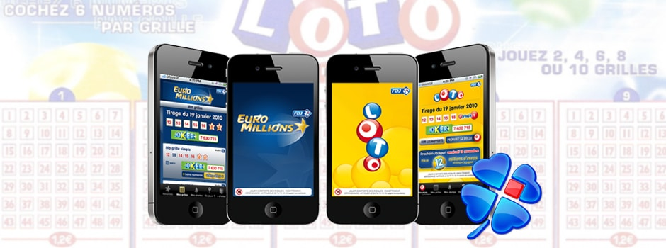 Ancienne version application LOTO et EURMILLIONS