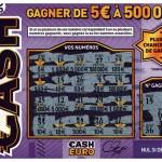 ticket cash gratté