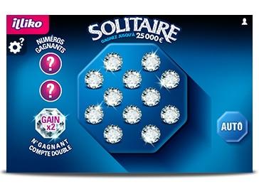 Les 12 diamants du jeu Solitaire
