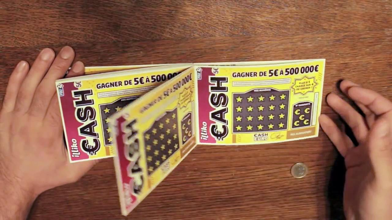 gagnants au jeu grattage CASH