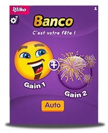 le nouveau jeu gratter banco est arriv jeux de grattage. Black Bedroom Furniture Sets. Home Design Ideas