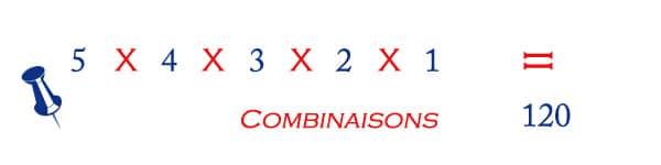 probabilité loto ordre des numéros