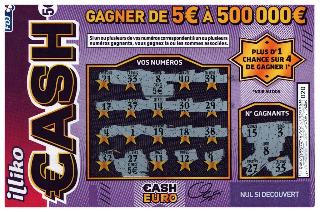 lettre gagnante cash Les lettres gagnantes du jeu Cash 2016 lettre gagnante cash