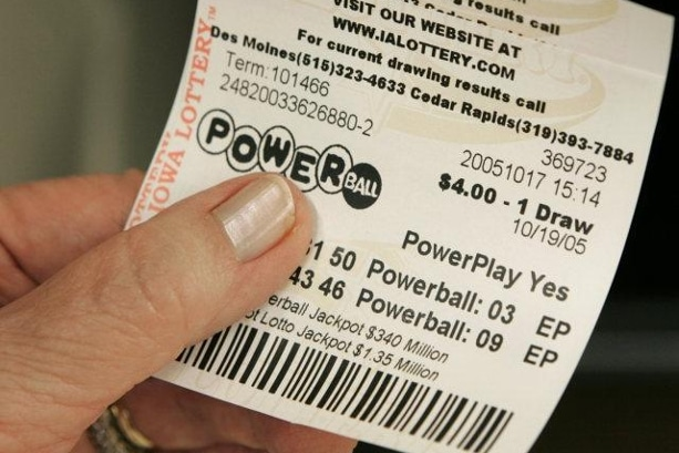 ticket de jeu Powerball