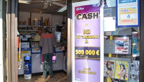 ici un gagnant a 500 000 euros au cash
