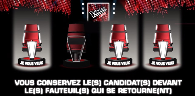 Jeu interactif the voice
