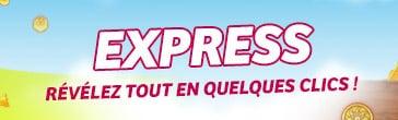 Le logo de la gamme jeu Express de la FDJ