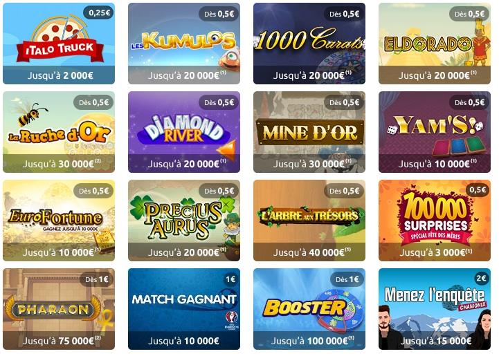 les-jeux-illiko-express-de-la-FDJ-jeux-à-gratter
