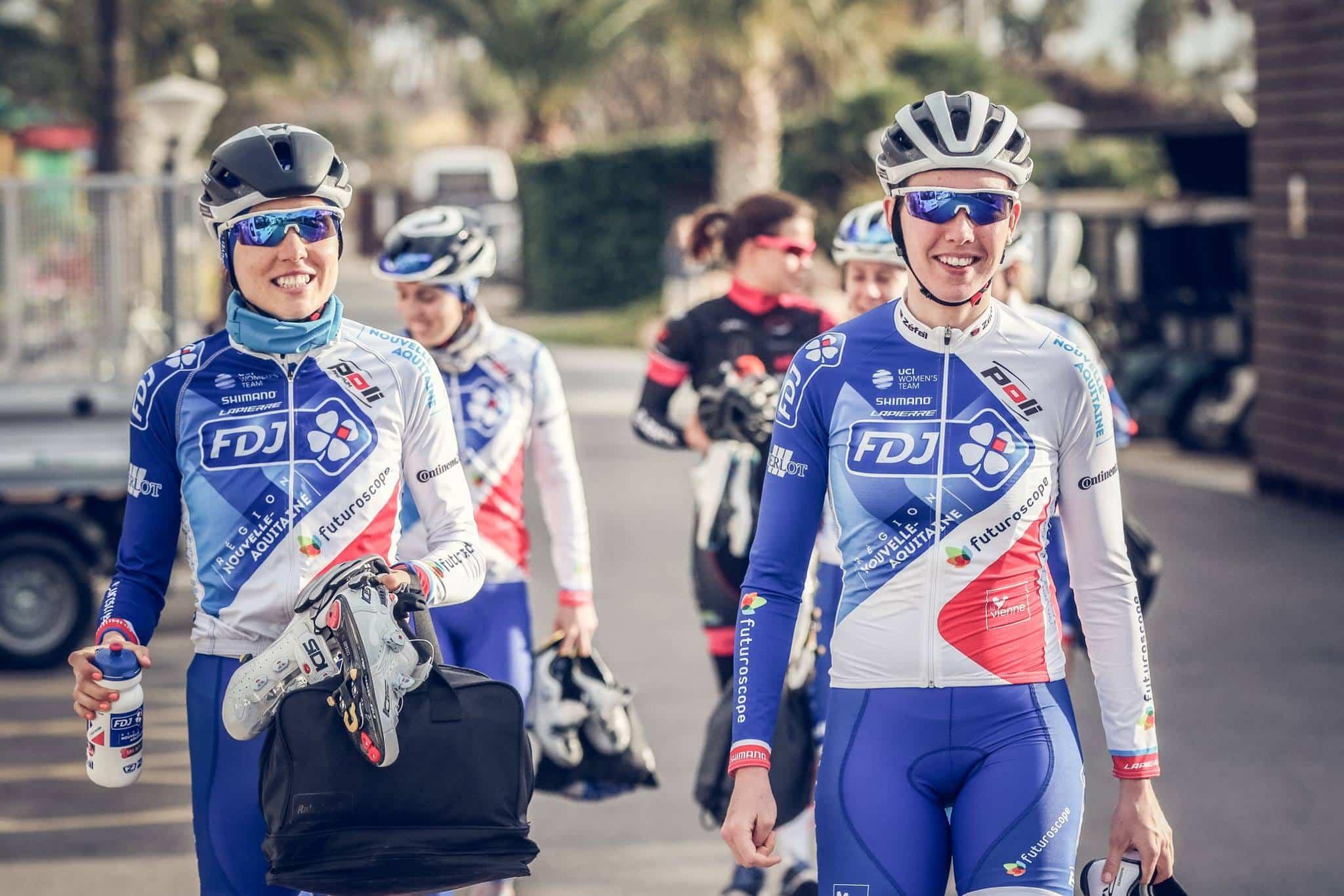 equipe cycliste féminine - FDJ - Nouvelle Aquitaine - Futuroscope