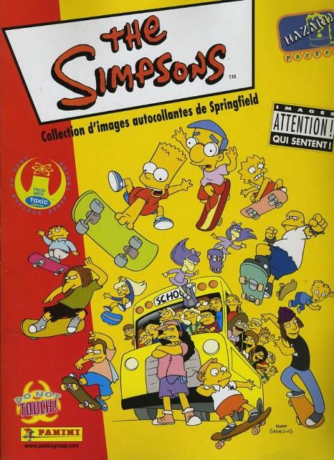 album panini simpson et la carte odorante