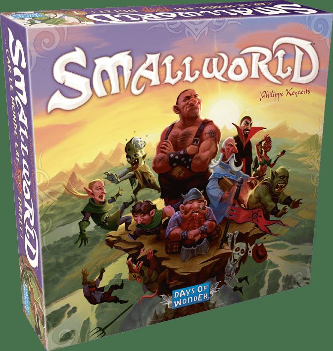 le jeu de plateau Small World de Asmodée