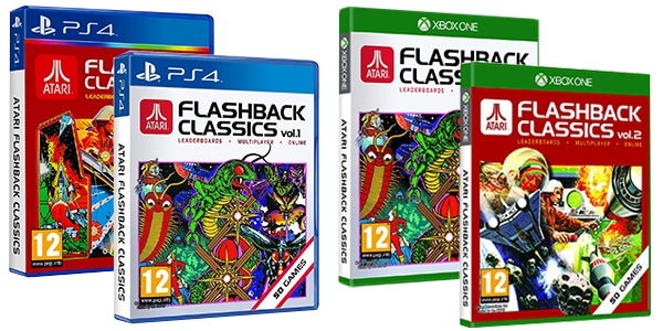 ATARI FlashBack Collection ps4 xbox one jeux retro