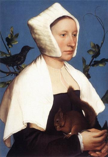 Hans-Holbein-dame-à-l'écureuil-National-Gallery-LONDRES