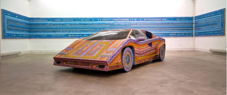 Lamborghini-construite-avec-des-jeux-à-gratter