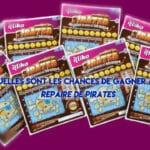 Nouveaux tickets à gratter chez le buraliste Repaire de pirates