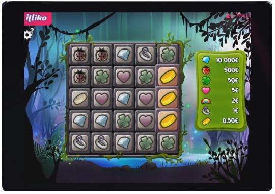 Image du jeu gagnant l'arbre aux trésors