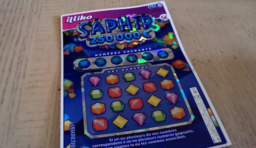 le jeu saphir fdj a été un succès en 2015