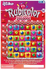 le nouveau jeu RUBICOLOR 250 000 euros