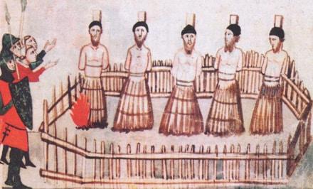 execution des templiers le vendredi 13 octobre 1307