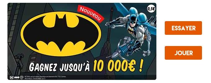 Jouer au jeu en ligne Batman