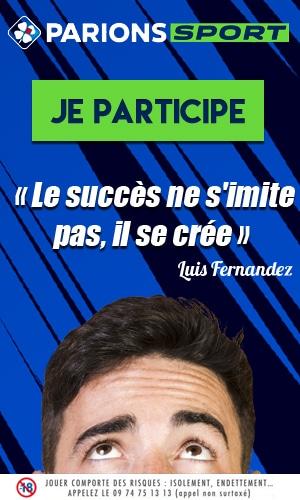 Le succès ne s'imite pas citation Luis fernandez