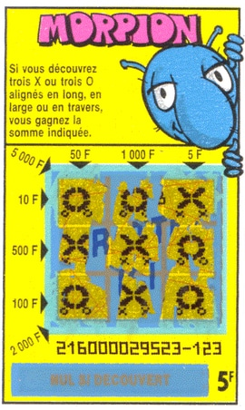 jeu Morpion 1997