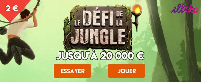 Jouer au jeu illiko FDJ Le défi de la Jungle