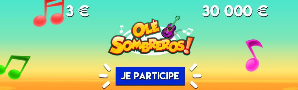 Jeu Instantané Olé Sombreros