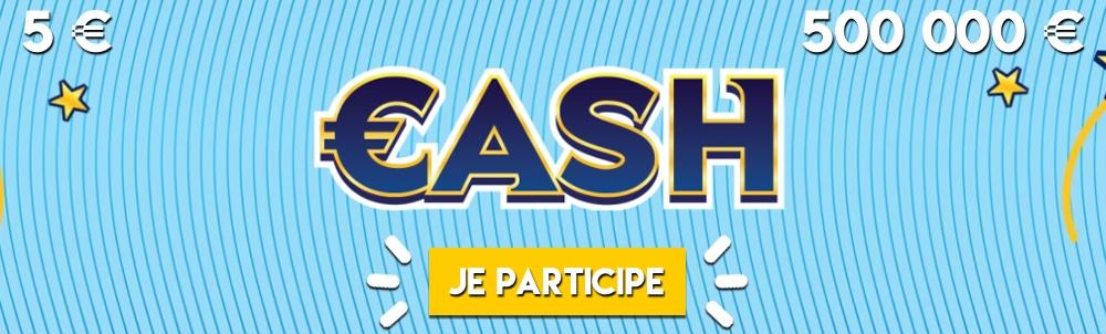 Le jeu CASH FDJ