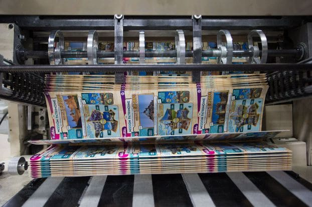 3 grands secrets derrière les tickets à gratter - fabrication©Jean Nicholas Guillo